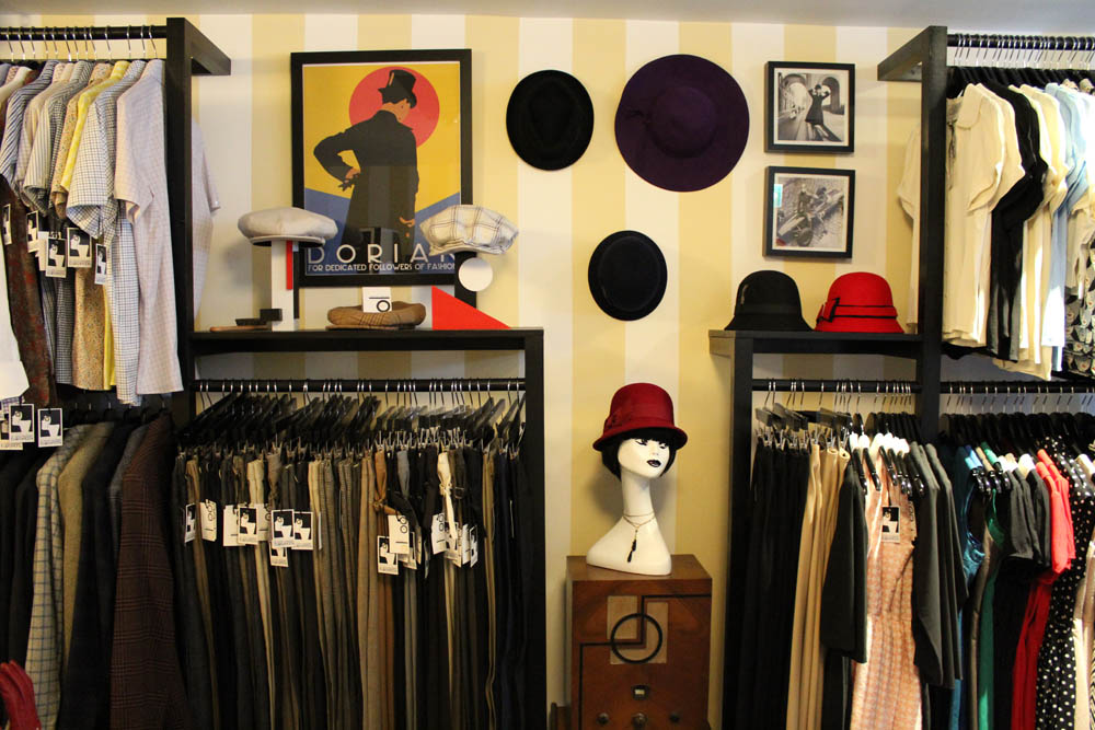 Dorian Boutique; a space dedicated to the golden age of European chic and style, where haute couture, avant-garde and street fashion meet.
