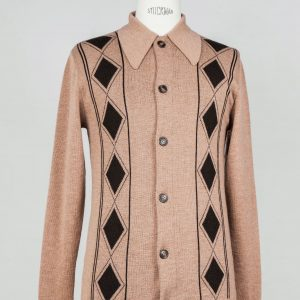 50's 60's mod ivy league jazz cardigan