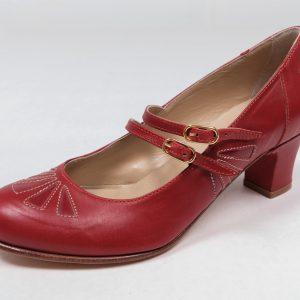 60's mod swinging London mid century shoes