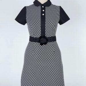 60's Mary quant mod swinging London dress