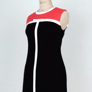60's Yves Saint Laurent mod swinging London dress