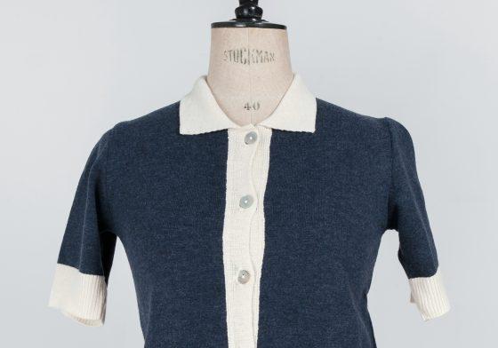 50's 60's rockabilly mod mid century cardigan