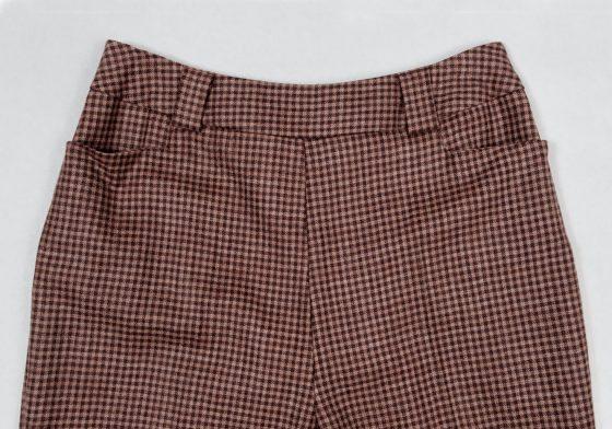 60's mod nouvelle vague femme Anna karina cigarette trousers