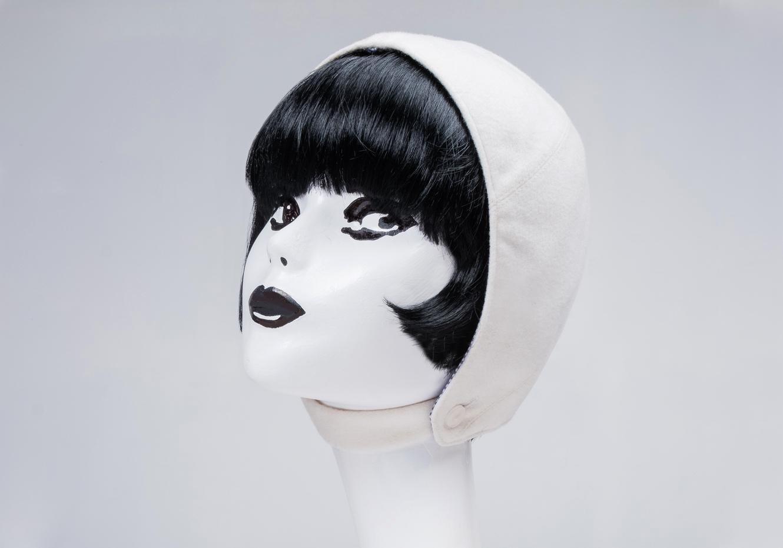 60's mod andre courreges pierre Cardin space age hat