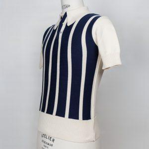 50's 60's beatnik rockabilly mod ivy league cool jazz be bop knit shirt